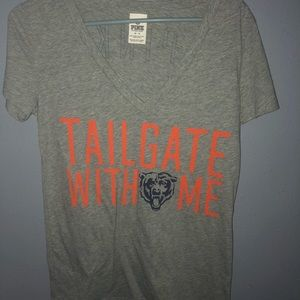 Victoria's Secret bears football shirt